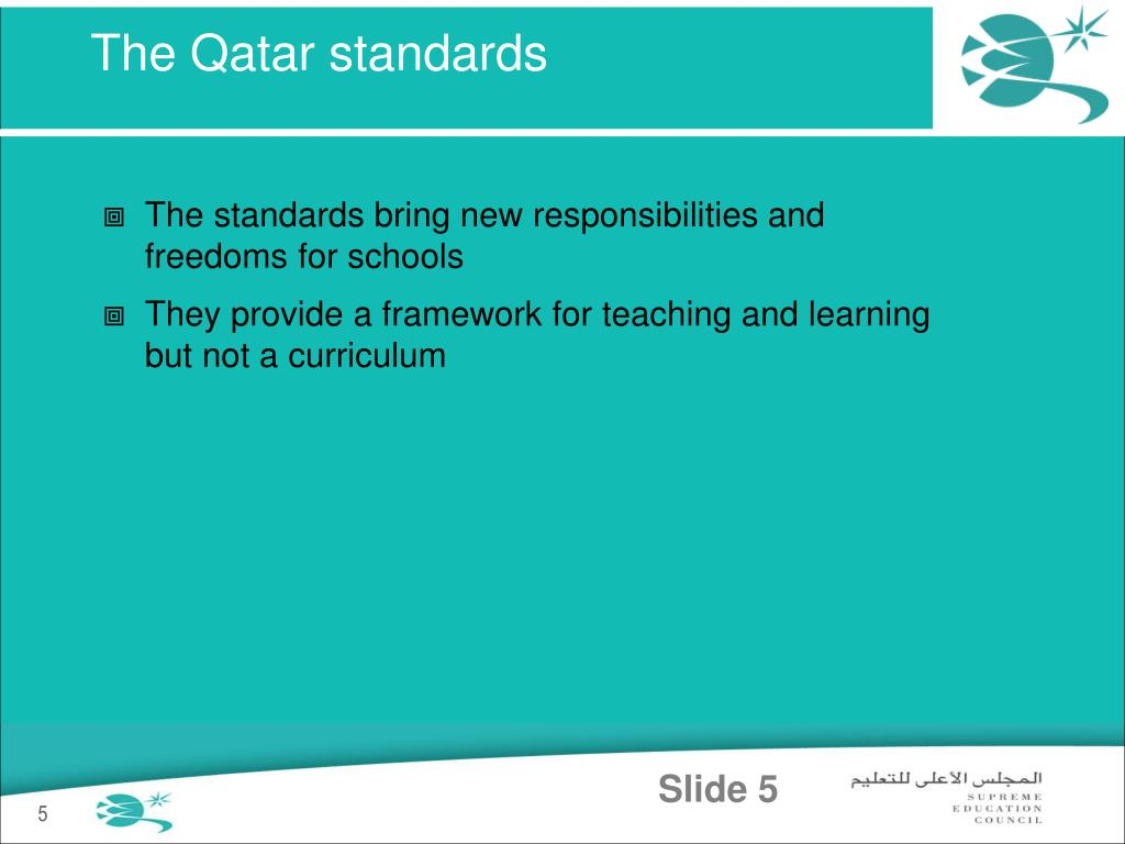 The Qatar standards