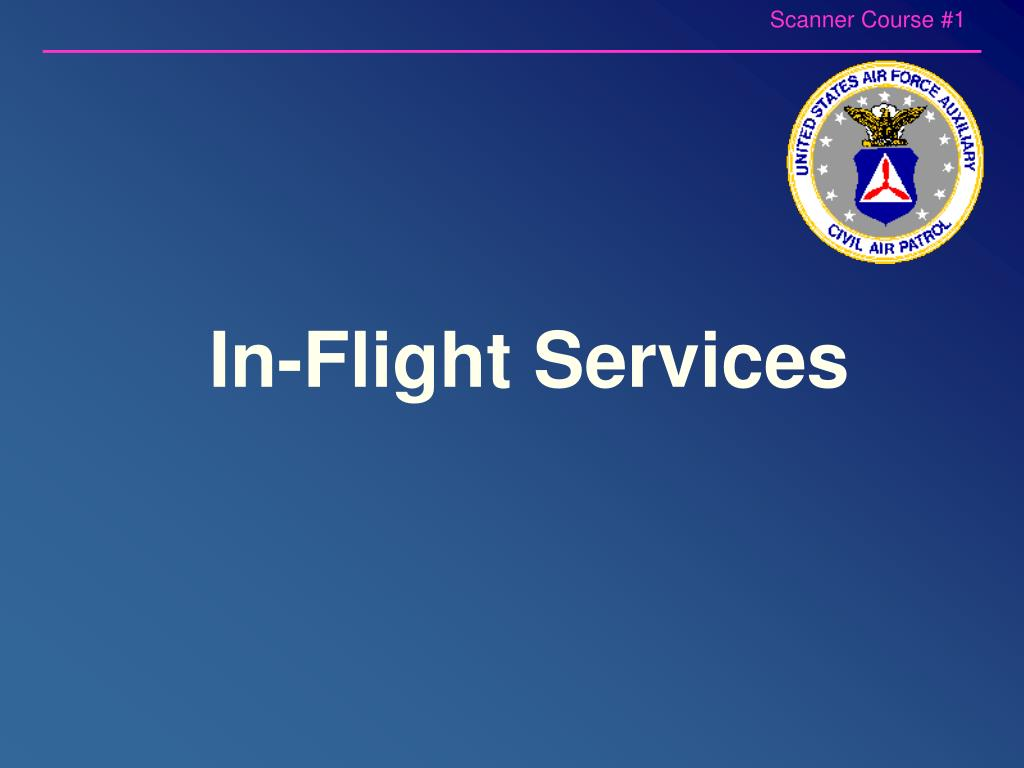 In-Flight Services