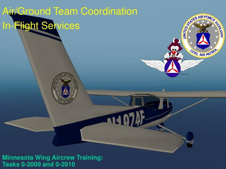 Minnesota wing aircrew training tasks 0 2009 and 0 2010