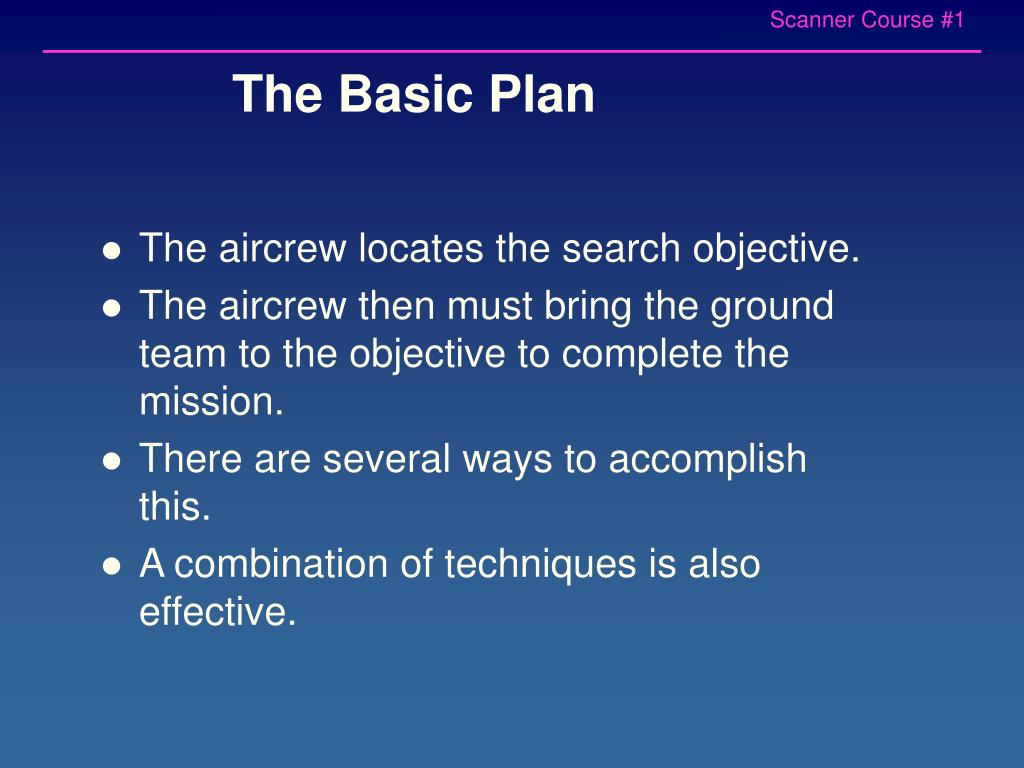 The Basic Plan