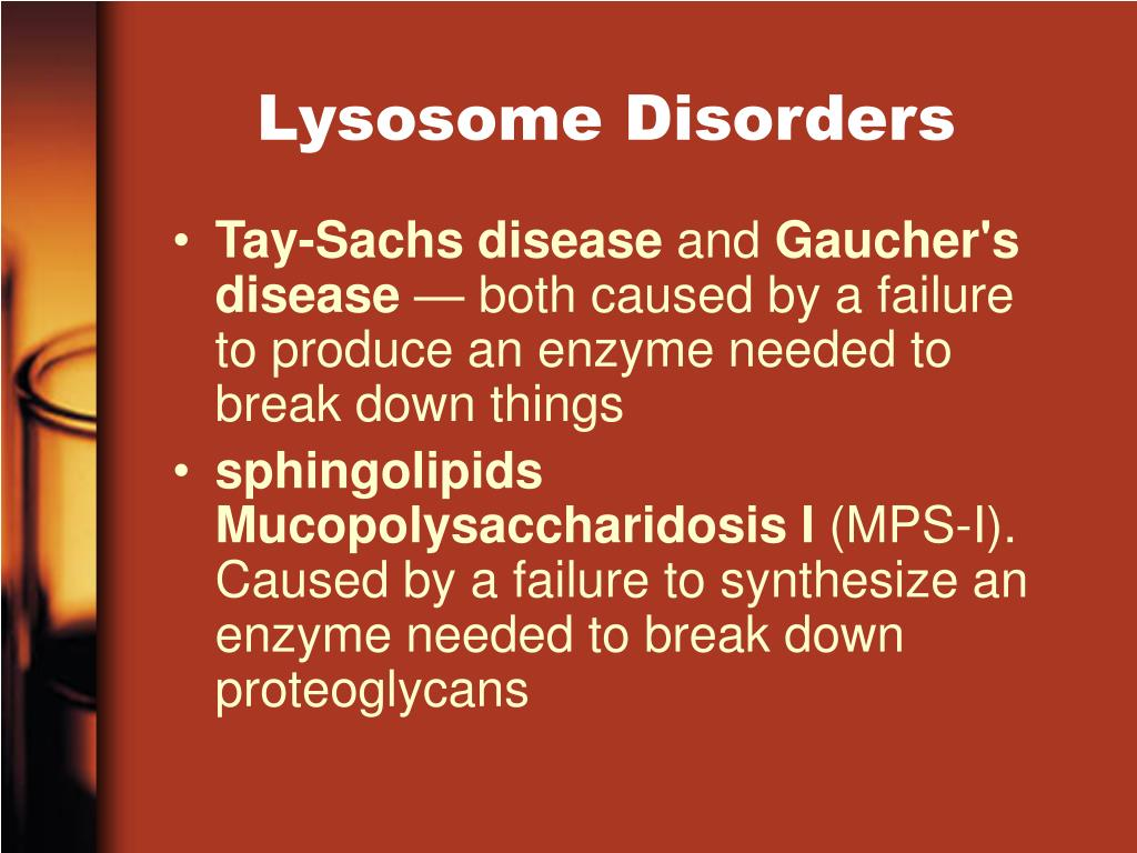 Lysosome Disorders
