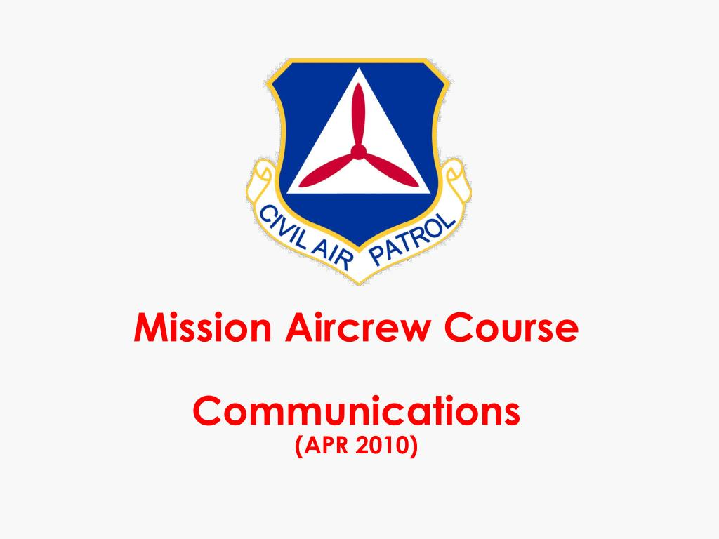 Mission Aircrew Course