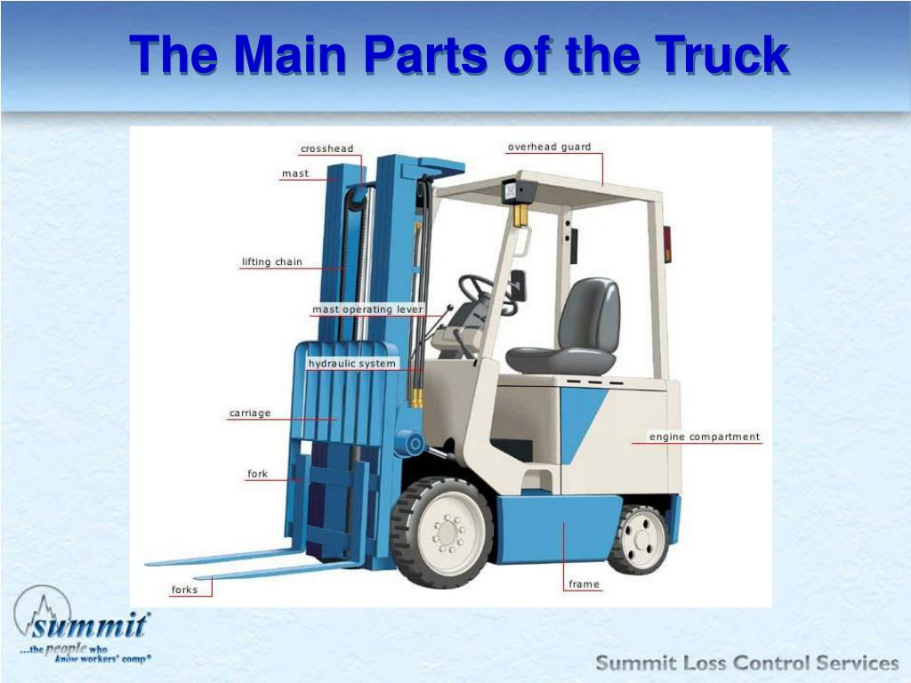 The Main Parts of the Truck