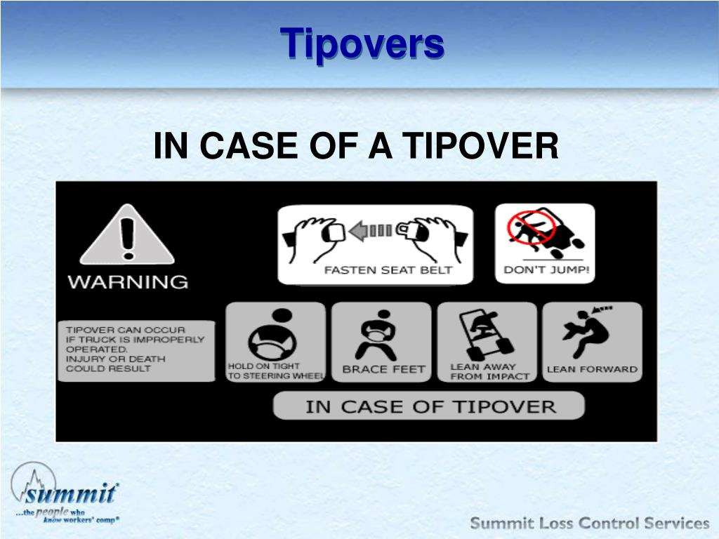Tipovers