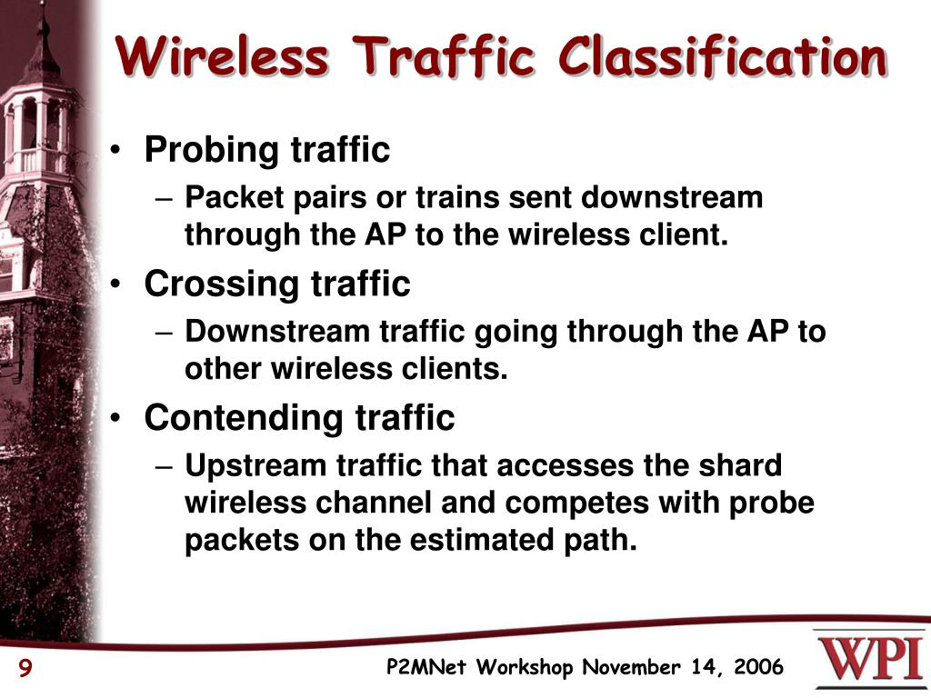Wireless Traffic Classification