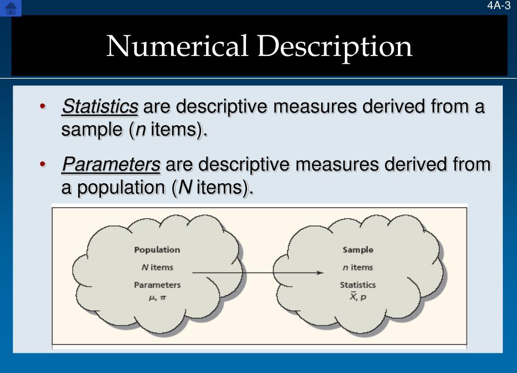 Numerical Description