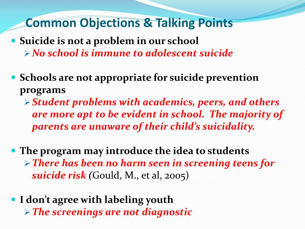 Common Objections & Talking Points