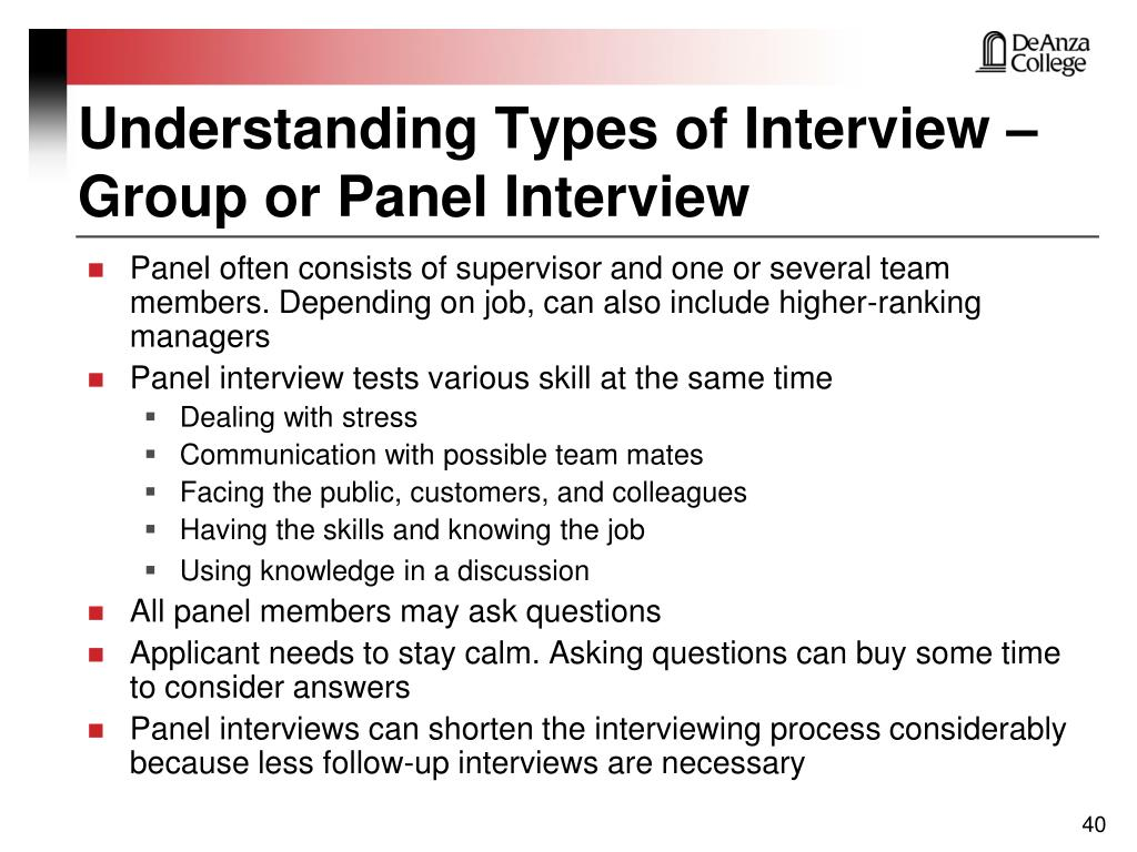 Understanding Types of Interview – Group or Panel Interview