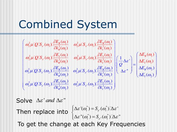 Combined System