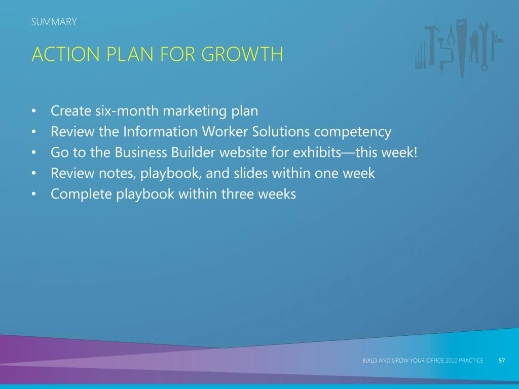 Action Plan for Growth