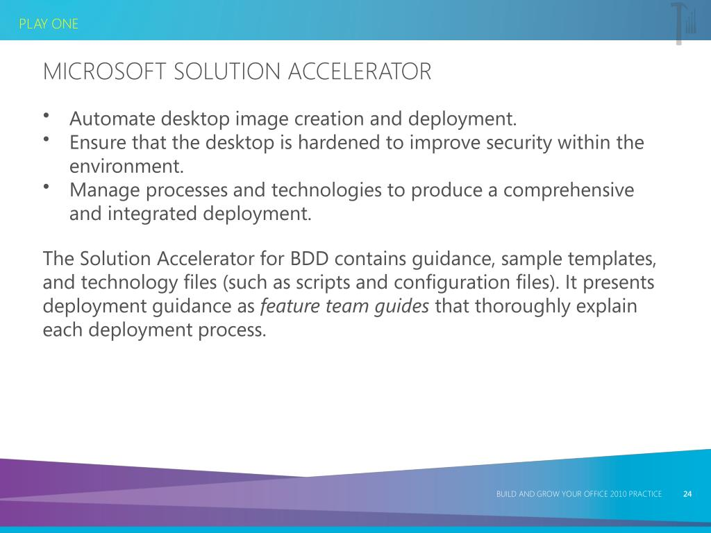 Microsoft Solution Accelerator