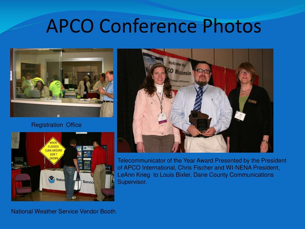 APCO Conference Photos