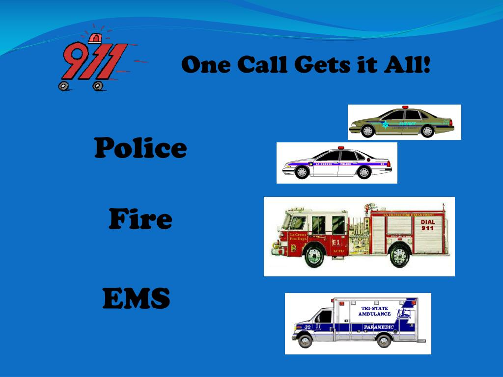 One Call Gets it All!