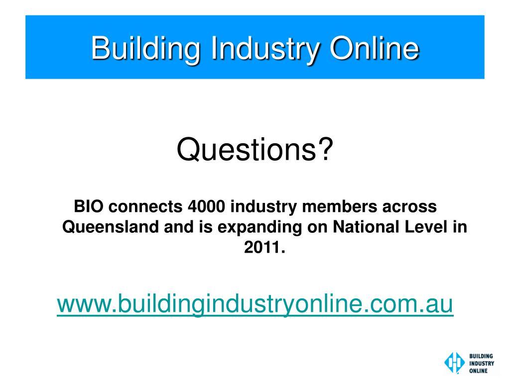 Building Industry Online