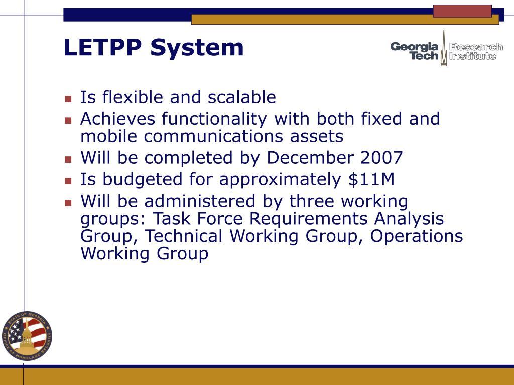 LETPP System