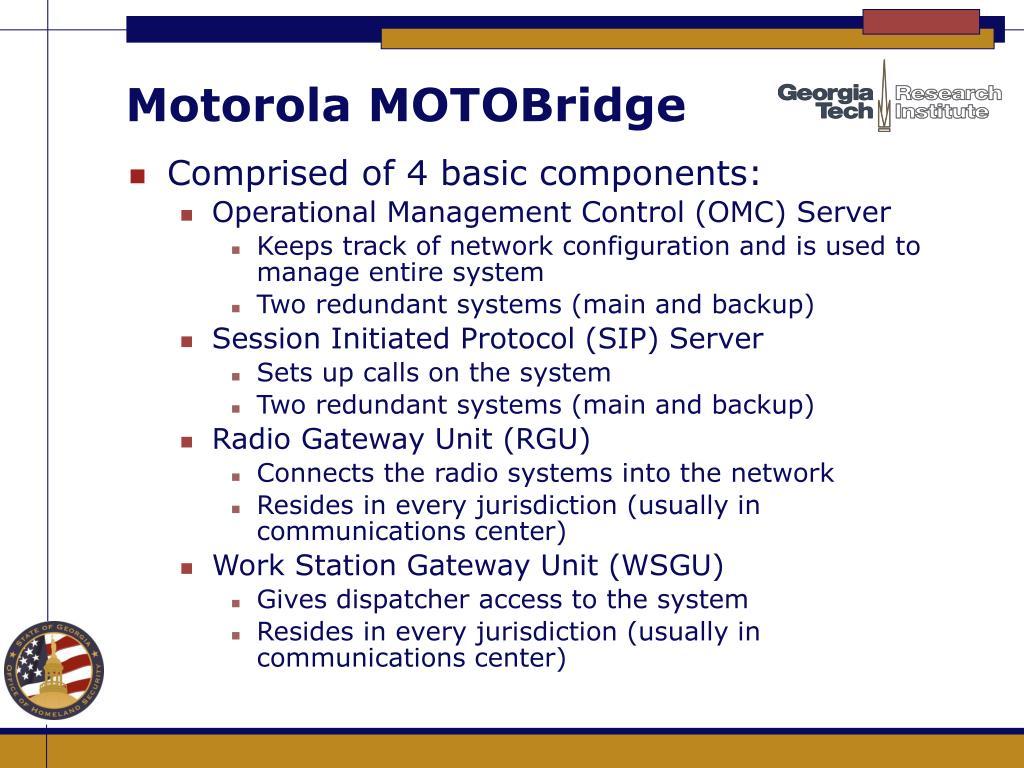 Motorola MOTOBridge