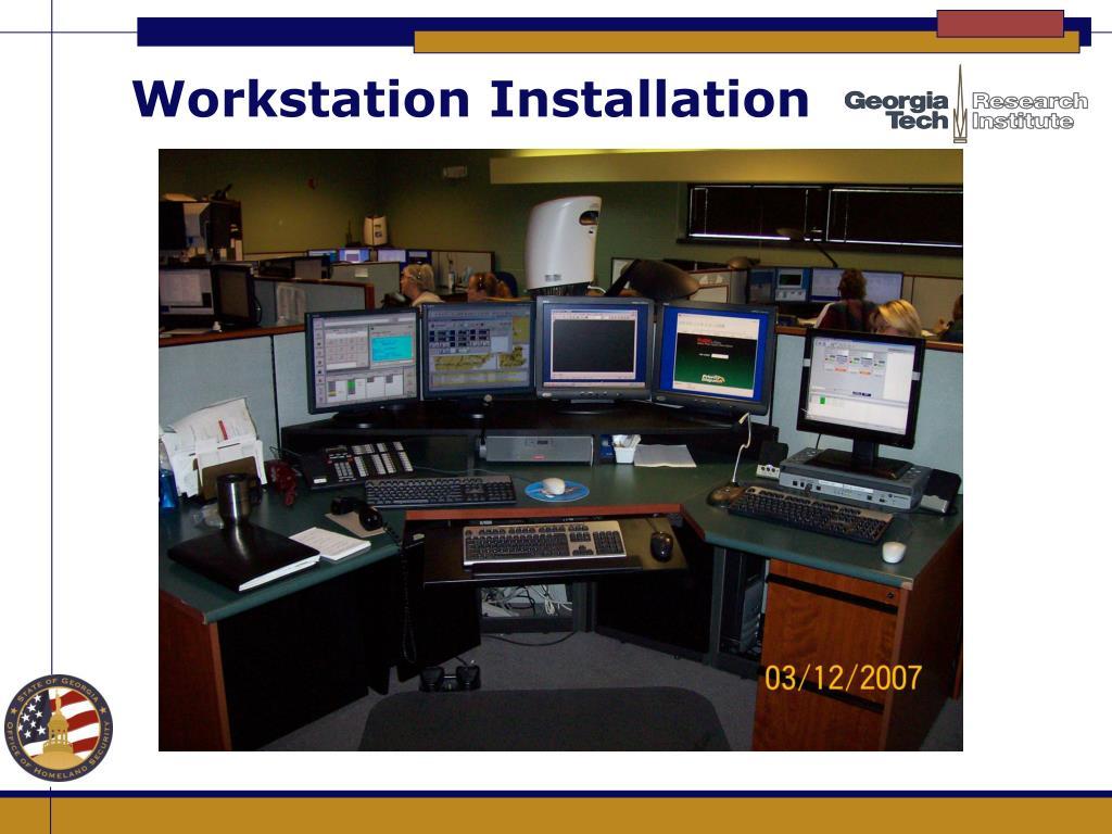 Workstation Installation