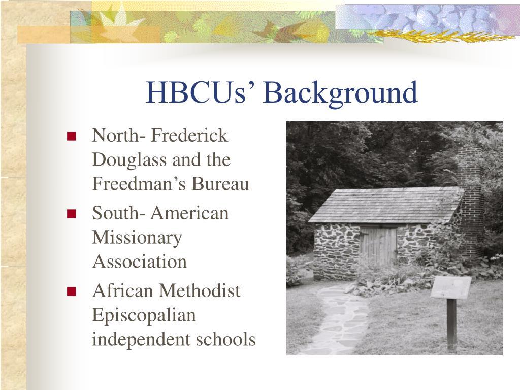 HBCUs' Background