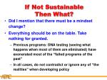 if not sustainable then what26