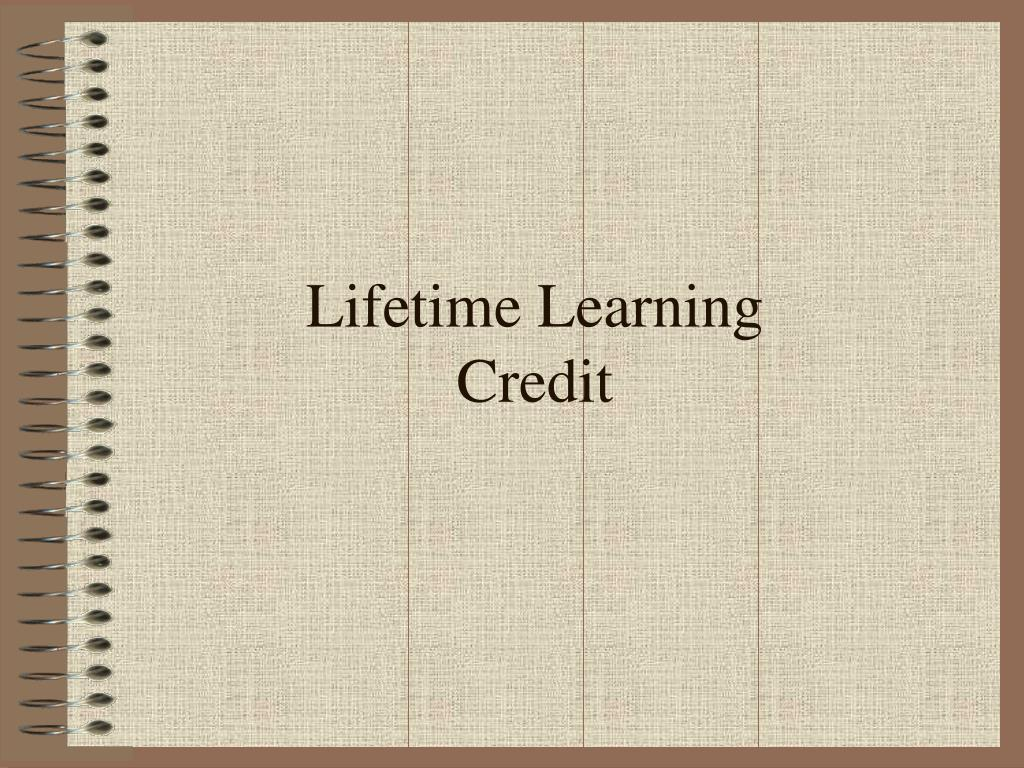 Lifetime Learning