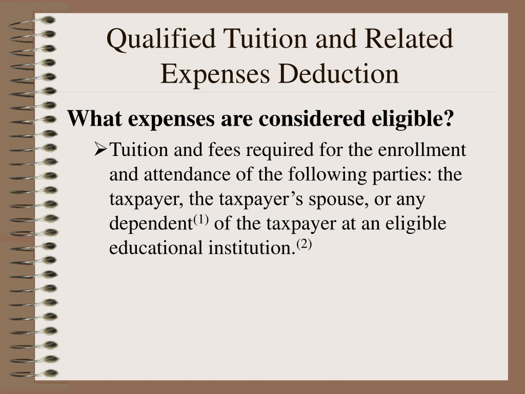 What expenses are considered eligible?