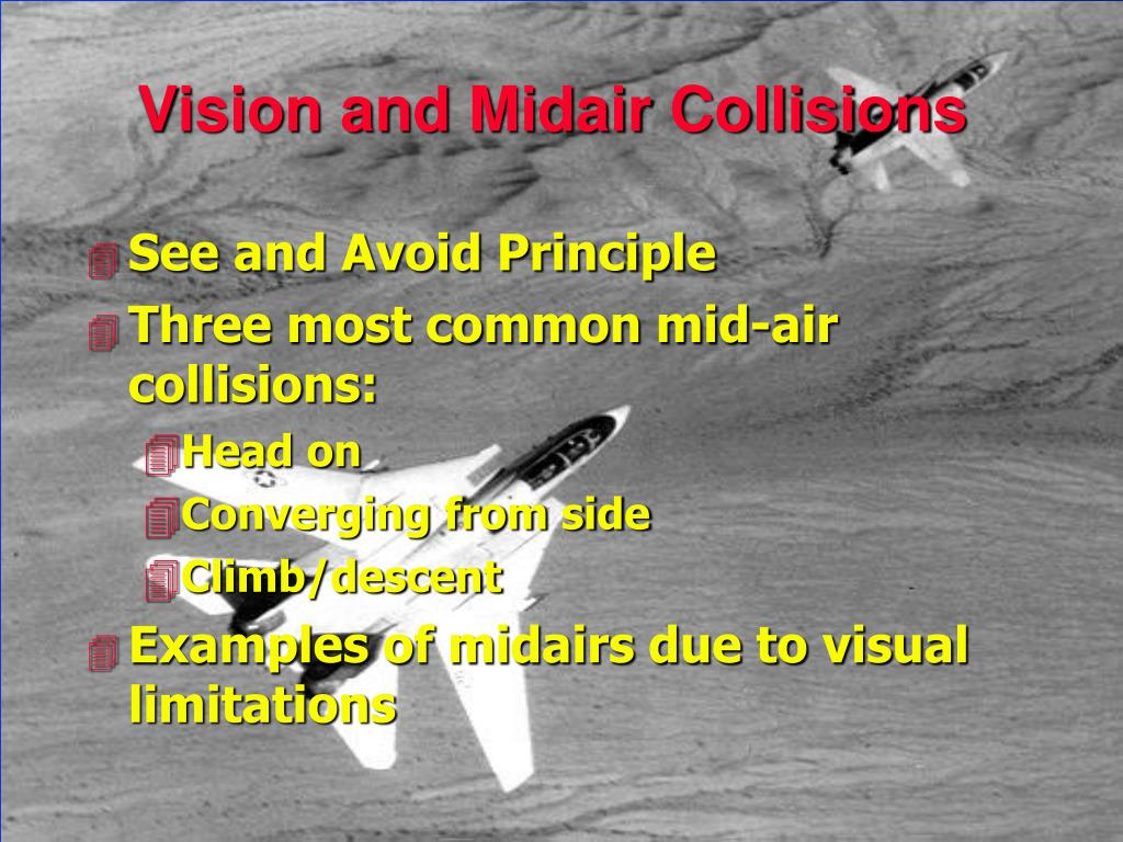Vision and Midair Collisions