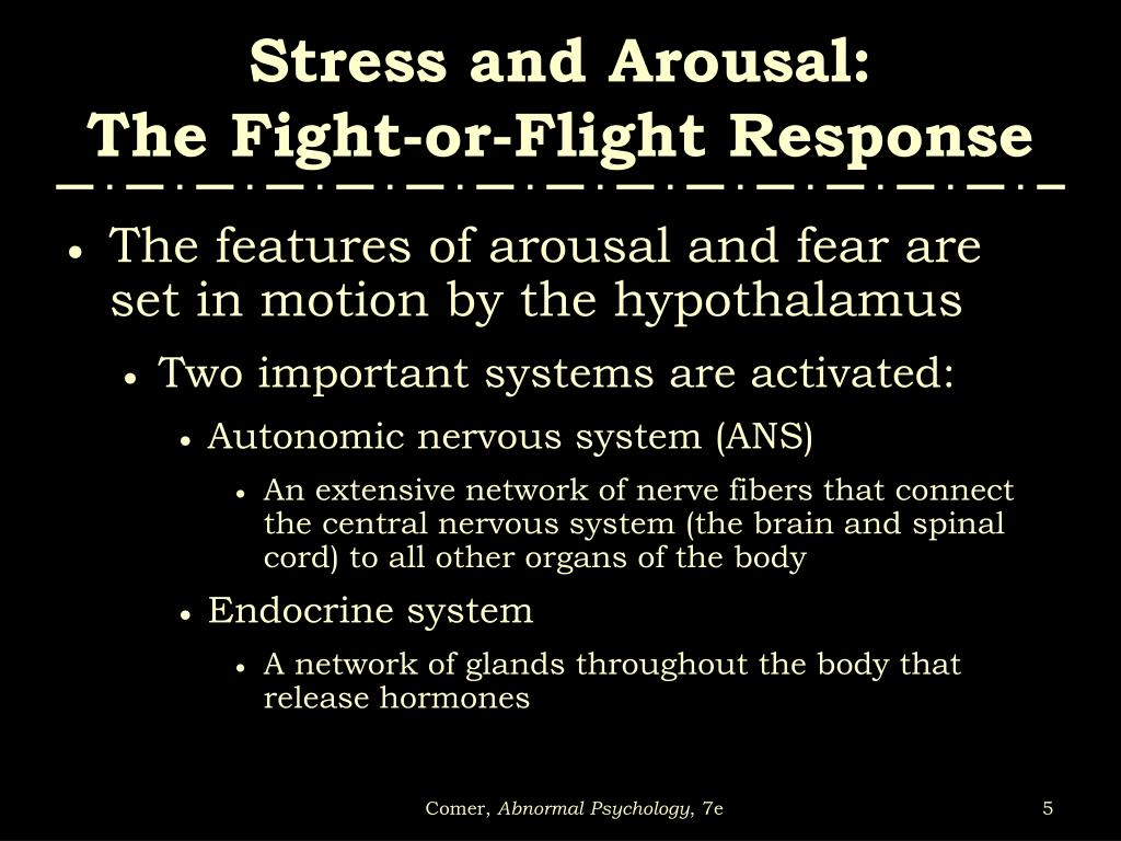 Stress and Arousal: