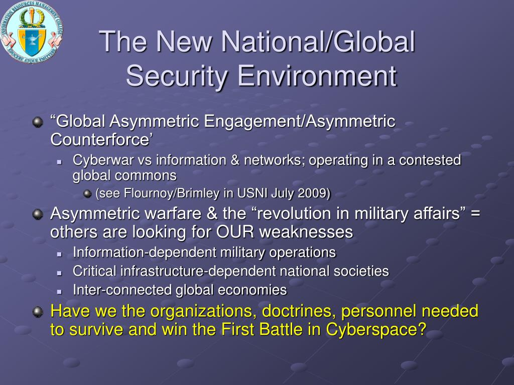 The New National/Global