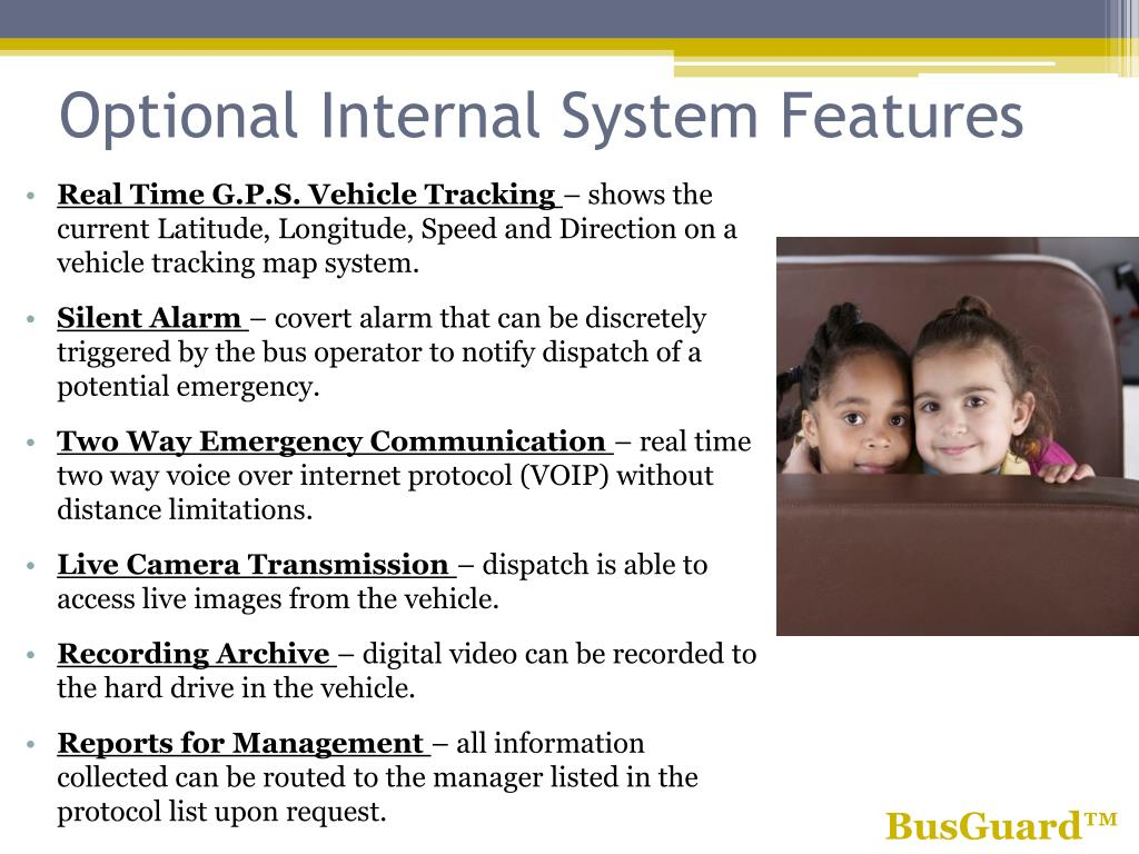 Optional Internal System Features