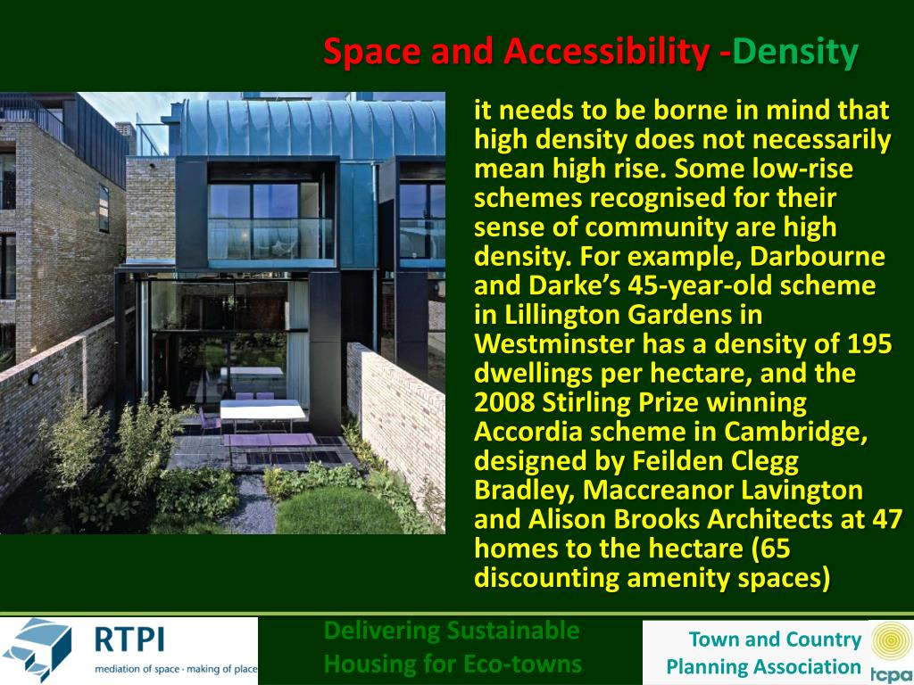 Space and Accessibility -