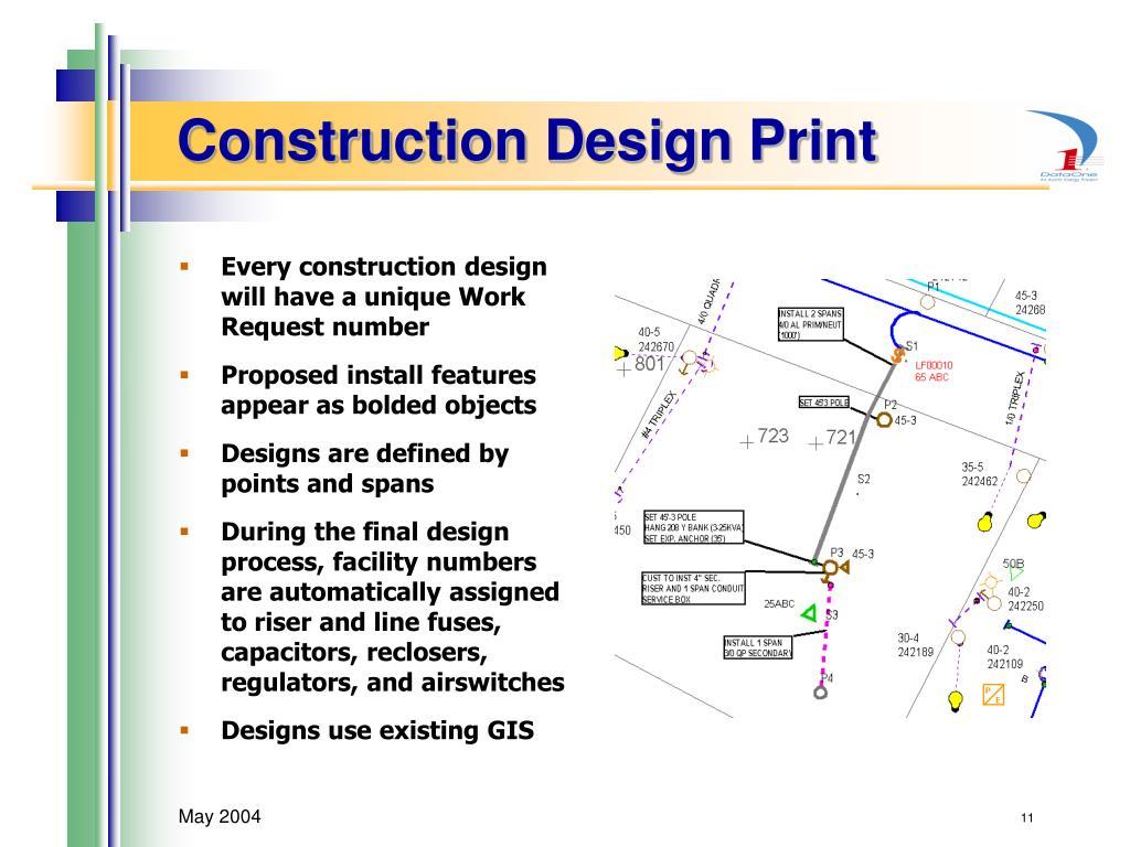 Construction Design Print