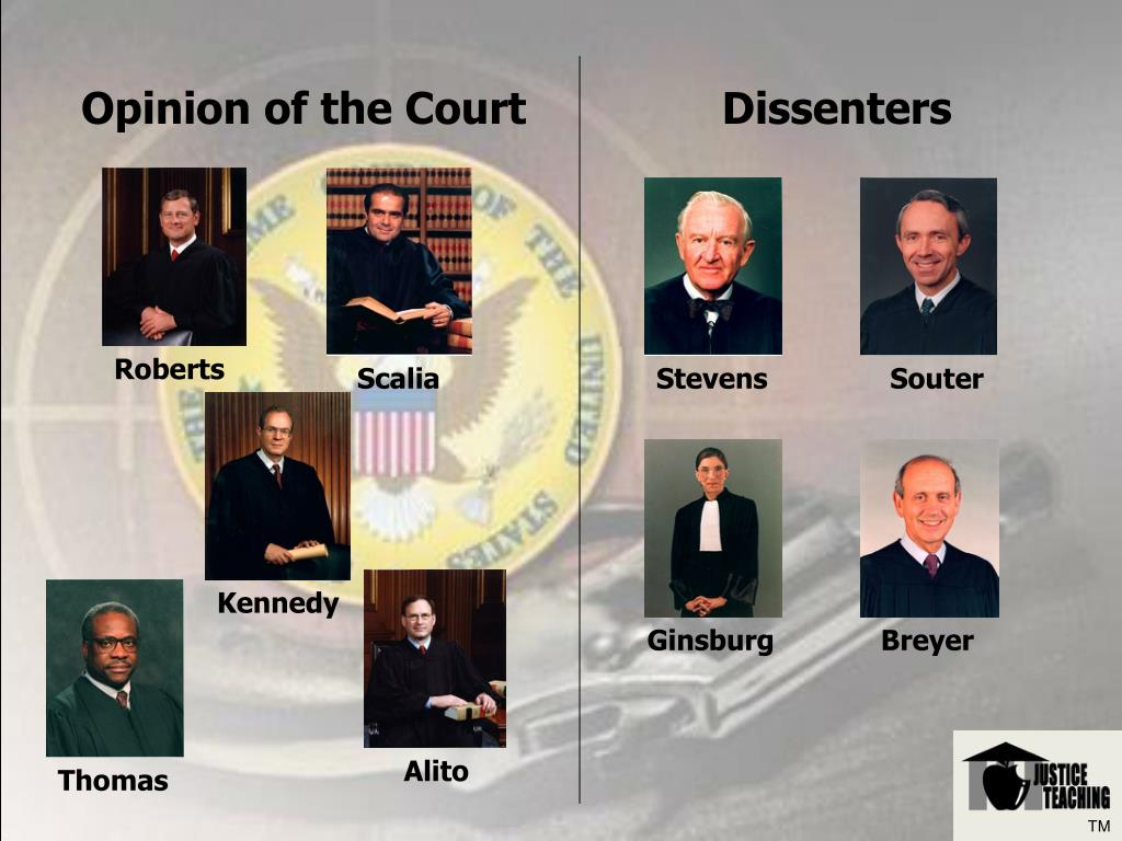 Opinion of the Court