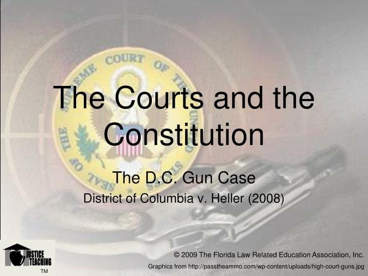 The courts and the constitution l.jpg