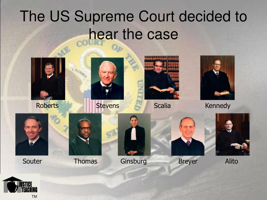 The US Supreme Court decided to hear the case
