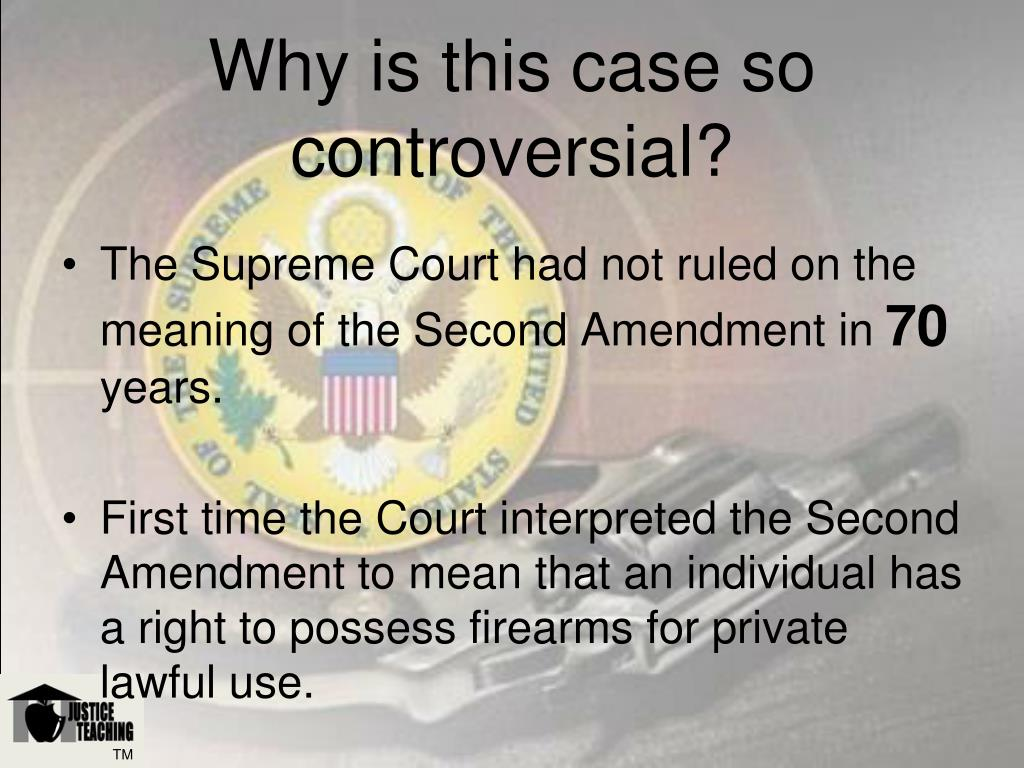 Why is this case so controversial?