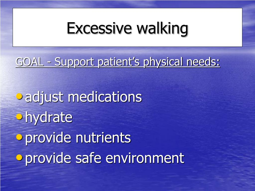 Ppt Dementia Related Wandering Management Interventions