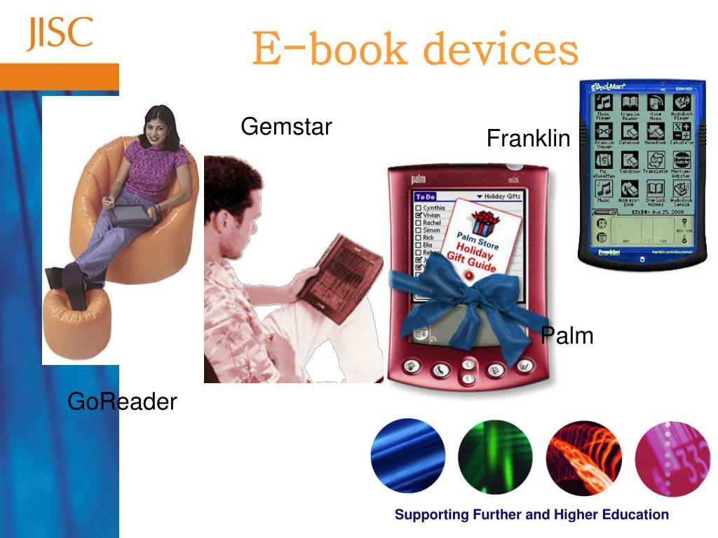 E-book devices