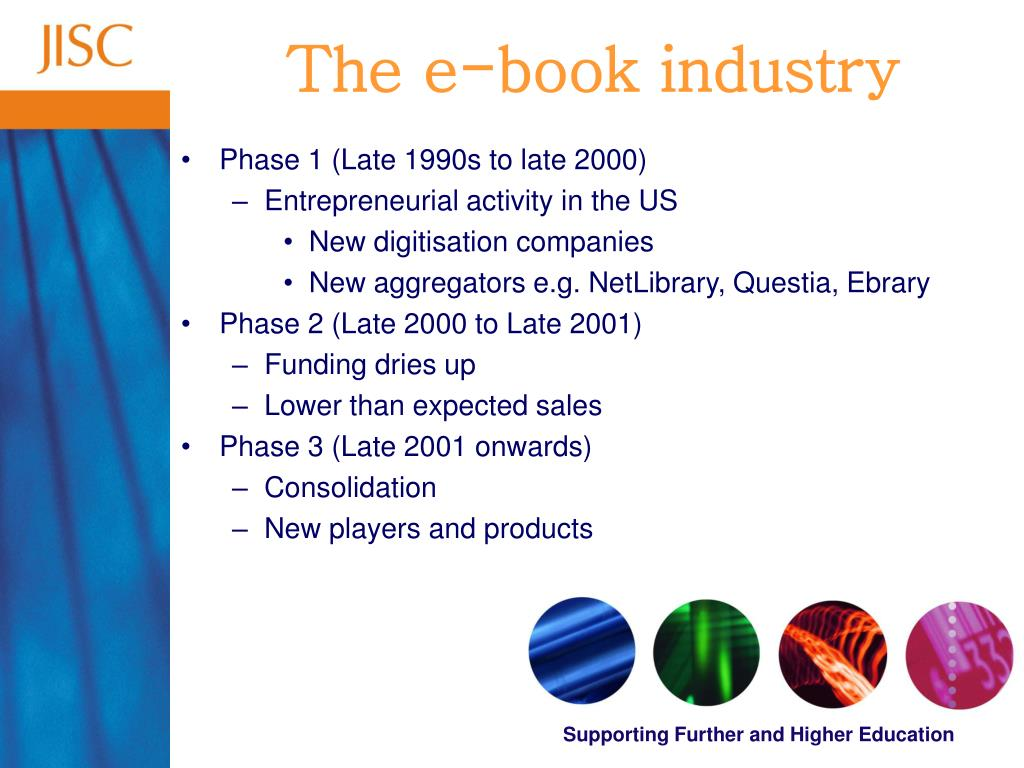 The e-book industry