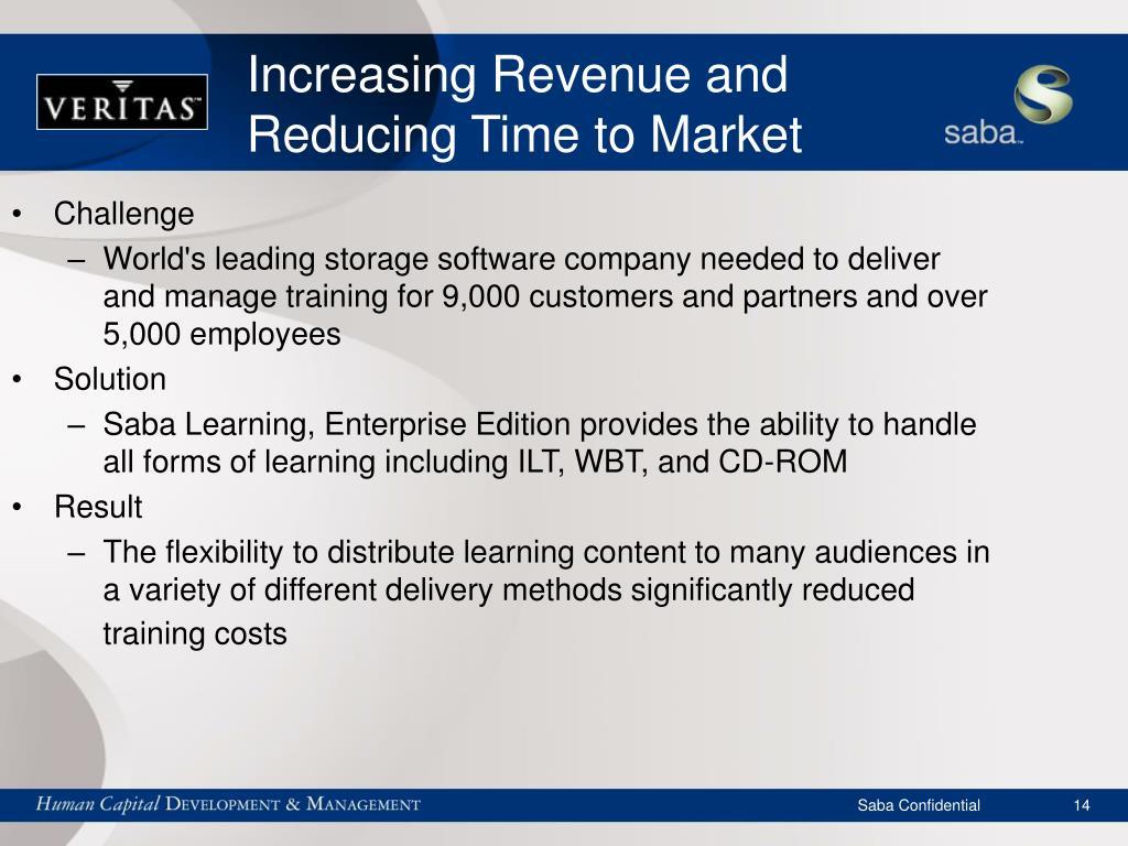 Increasing Revenue and