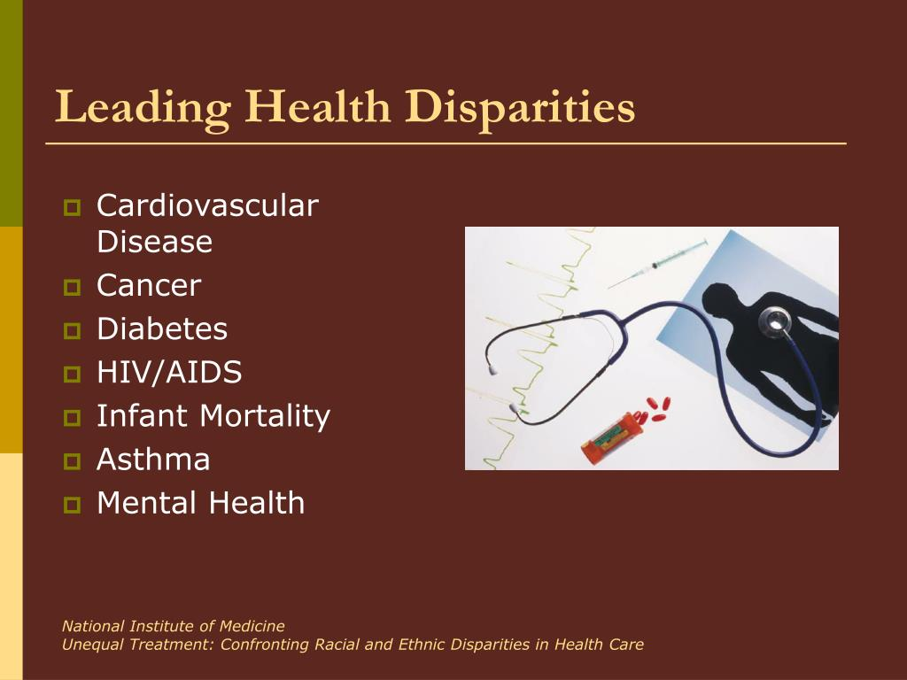 Leading Health Disparities