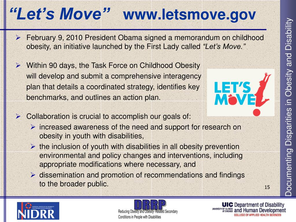 """""""Let's Move"""""""