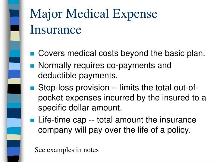 Major Medical Expense Insurance
