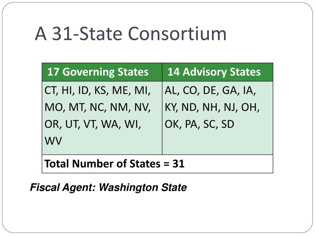 A 31-State Consortium