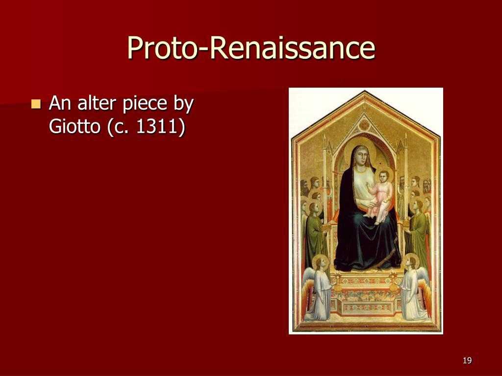 Proto-Renaissance