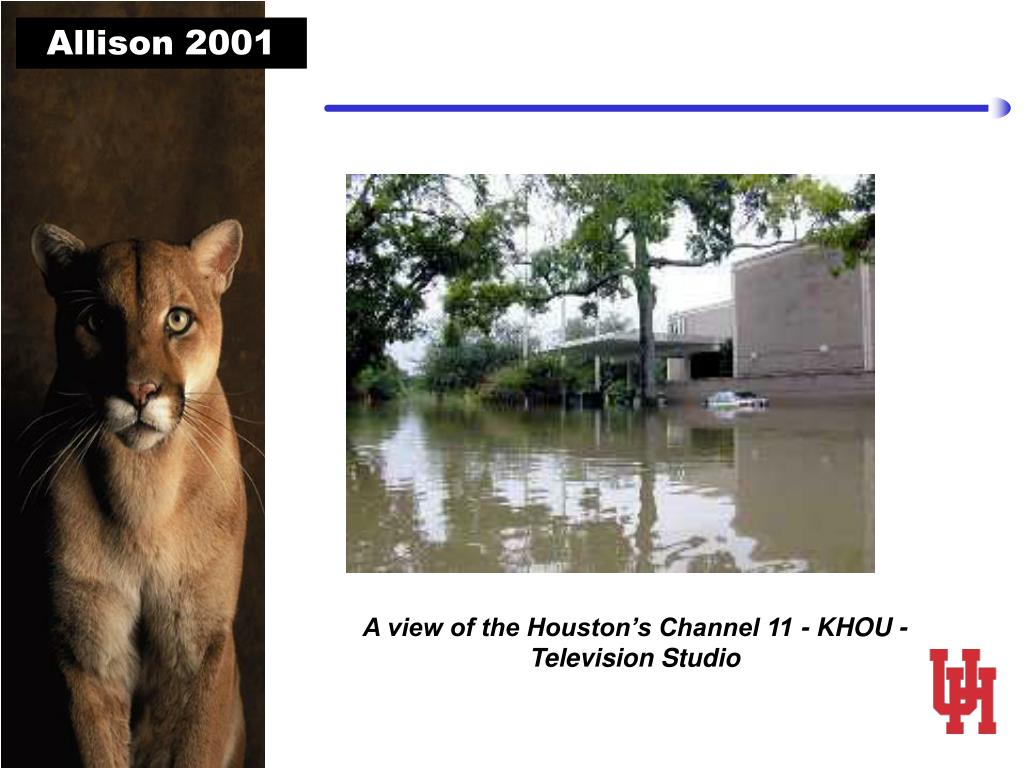 A view of the Houston's Channel 11 - KHOU - Television Studio