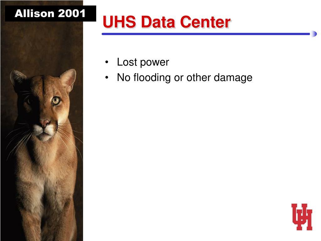 UHS Data Center