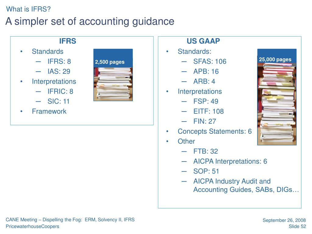 A simpler set of accounting guidance