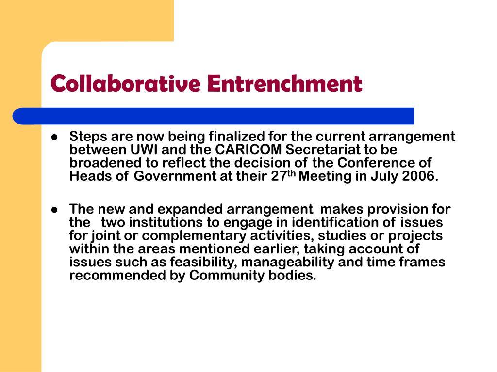 Collaborative Entrenchment