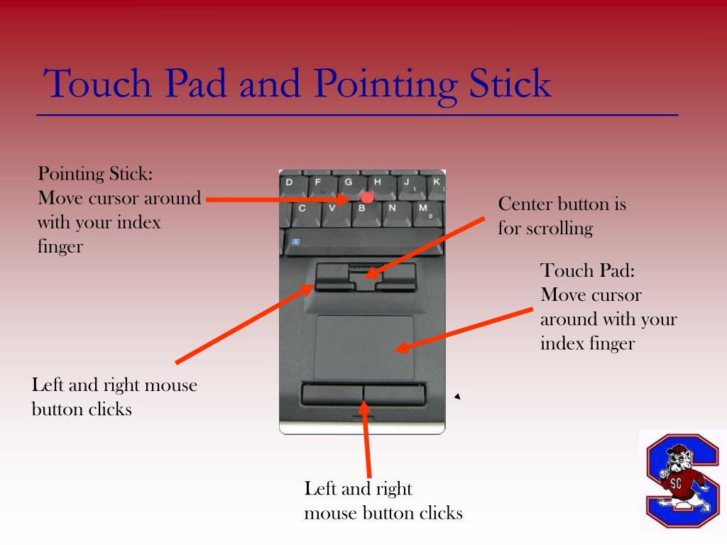 Touch Pad and Pointing Stick