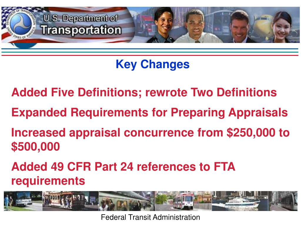 Key Changes
